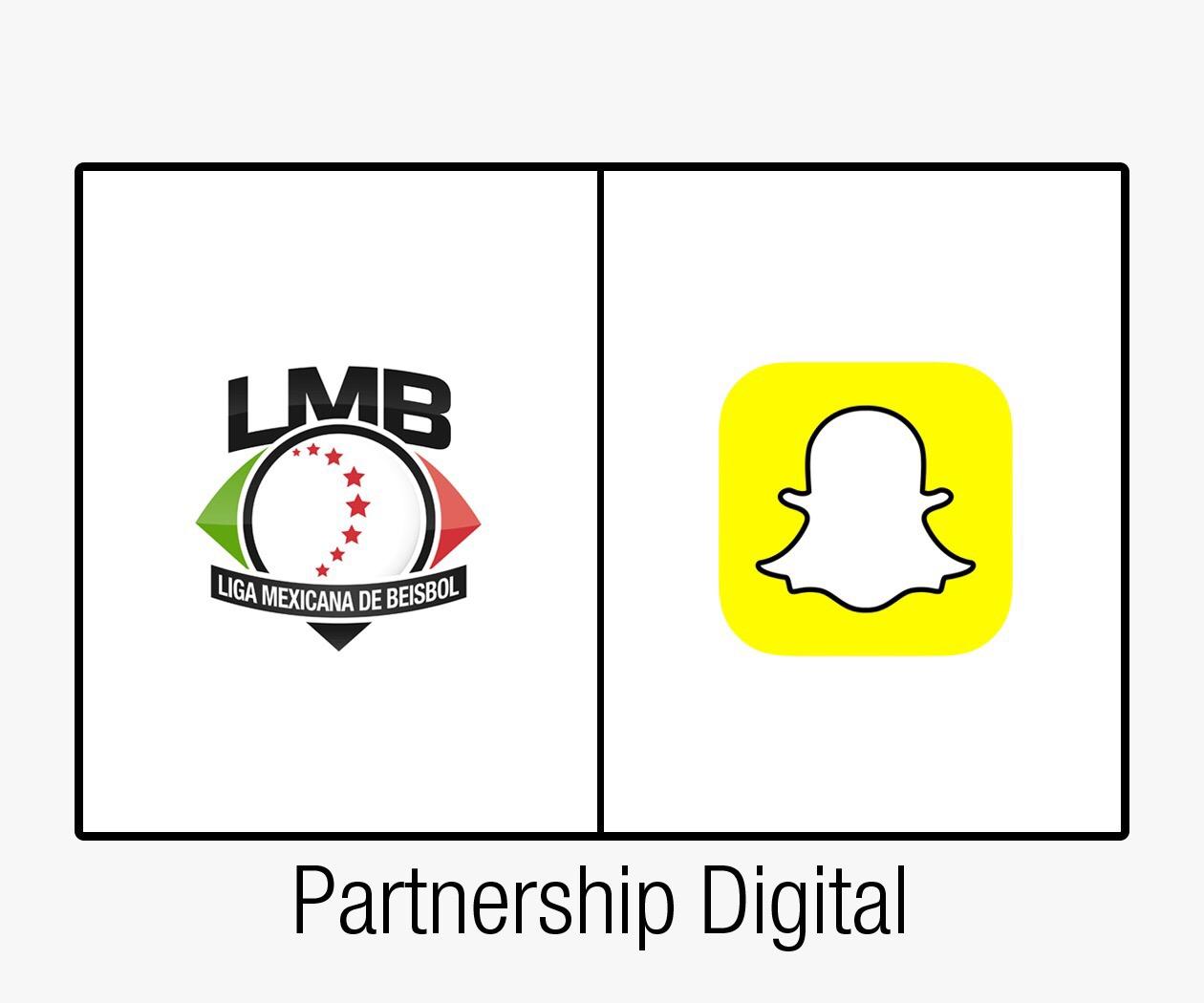 La LMB hace alianza con Snapchat