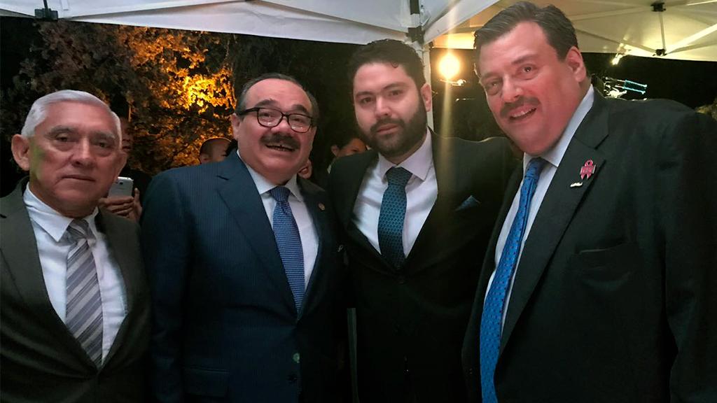 Los Leones acuden a la entrega del premio Beyond Sport México