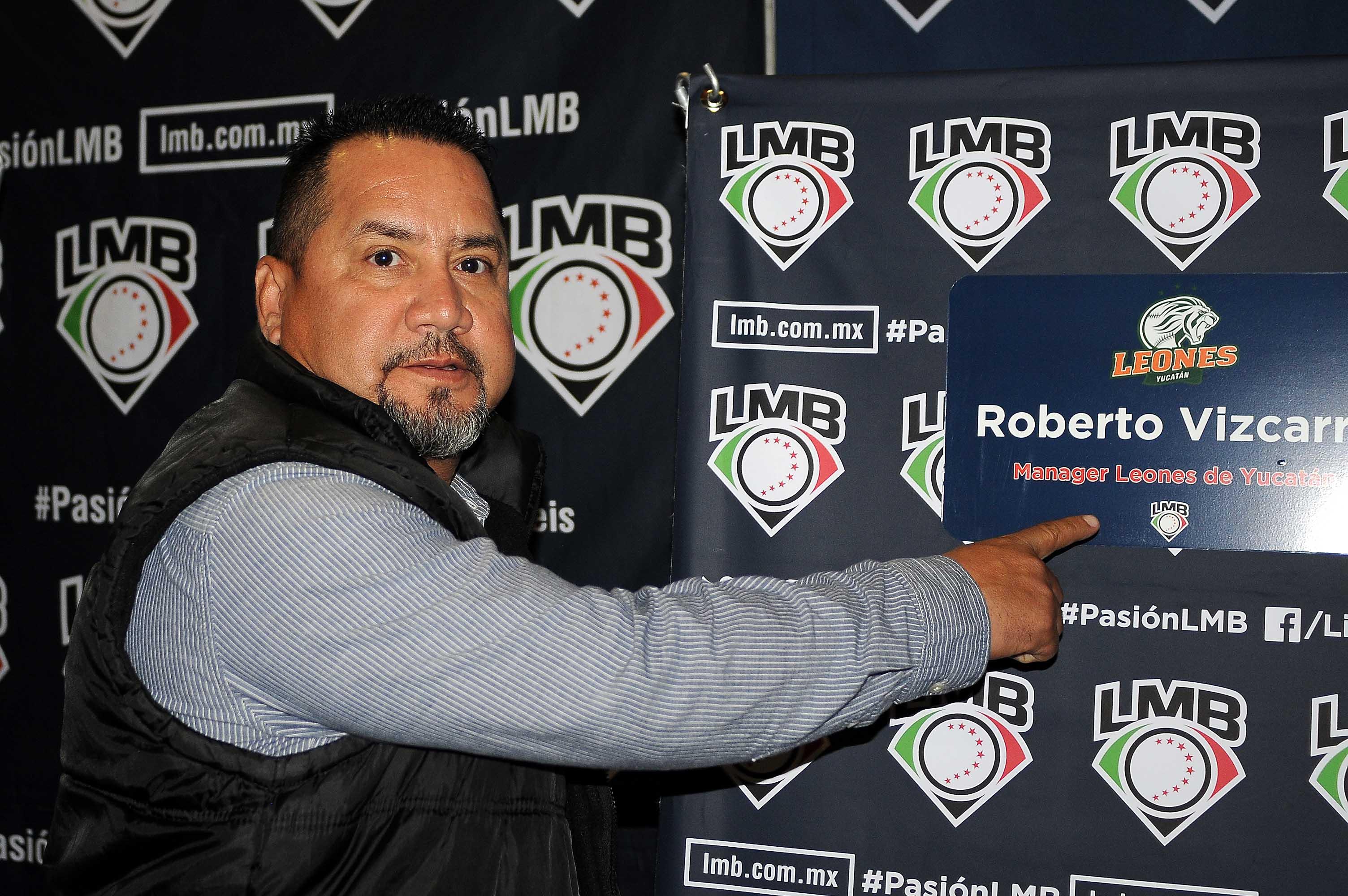 """Roberto """"Chapo"""" Vizcarra se reúne con los managers de la LMB"""