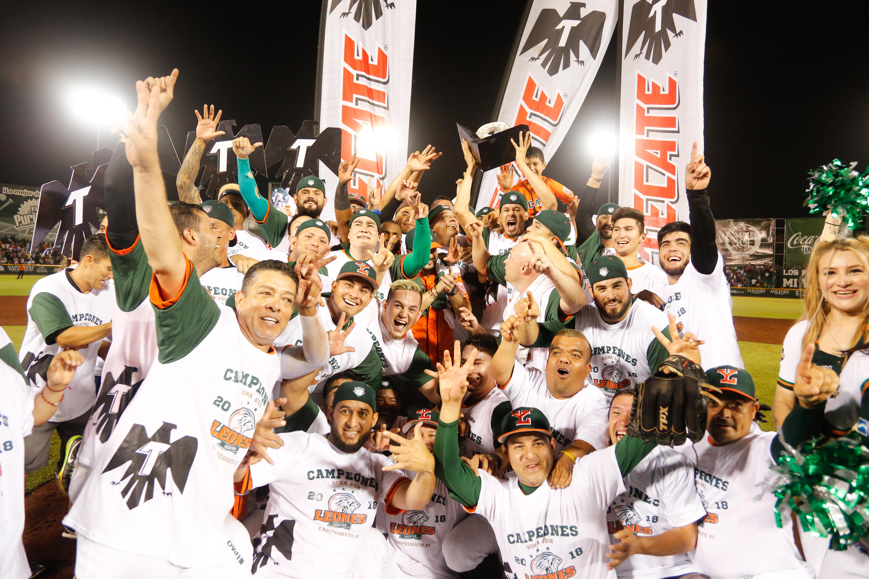 Los Leones son campeones de la Zona Sur y van a la Serie del Rey