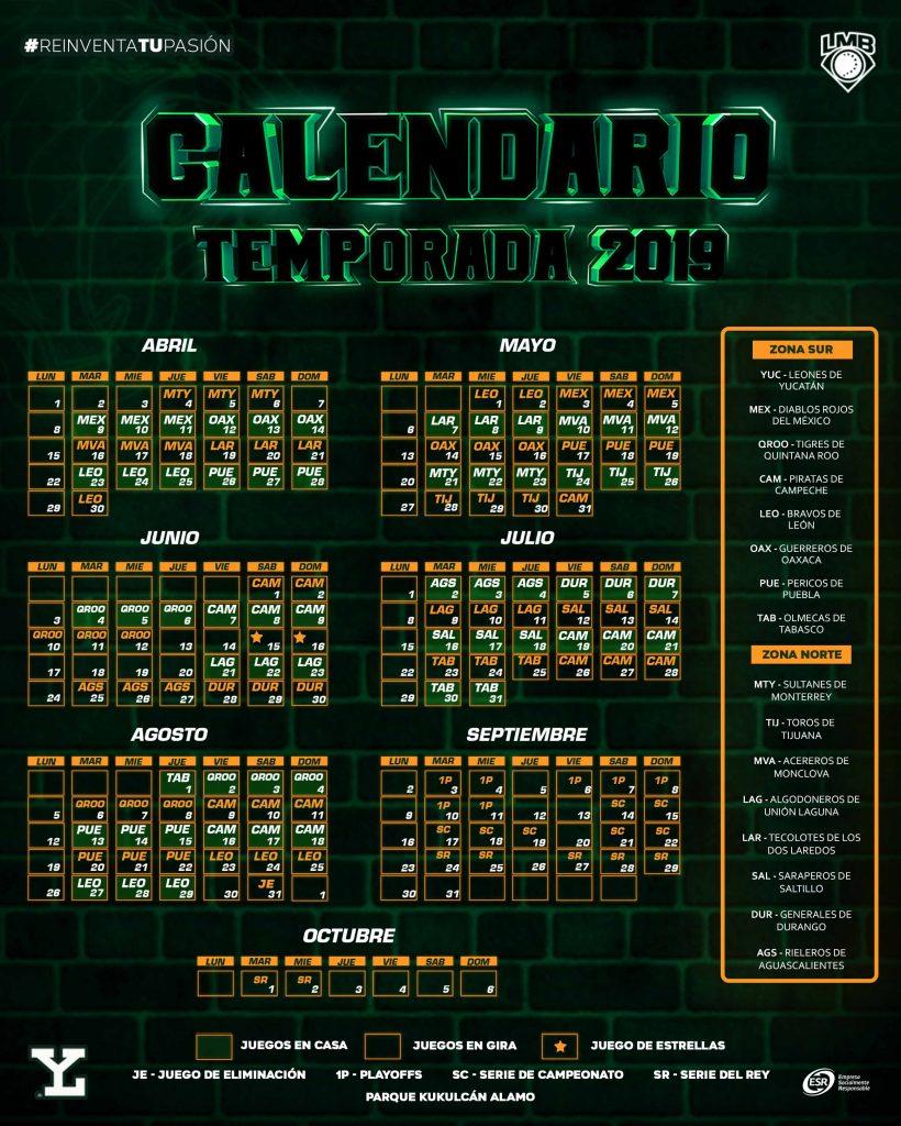 Calendario 2019 Pdf